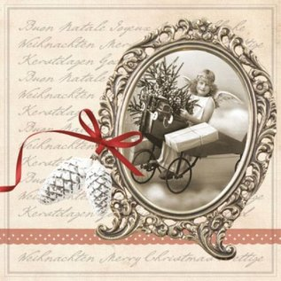 DECOUPAGE AND ACCESSOIRES 4 designer Decoupage servietter, Vintage Jul