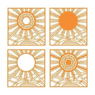 Tonic Stanzschablonen: Sonnenaufgang
