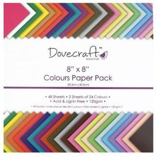 DESIGNER BLÖCKE / DESIGNER PAPER Papir pad med 48 ark