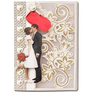 KARTEN und Zubehör / Cards 10 Luxury double cards with envelopes