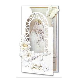 BASTELSETS / CRAFT KITS Komplettes Bastelset für wunderschöne Einladungskarten Hochzeit