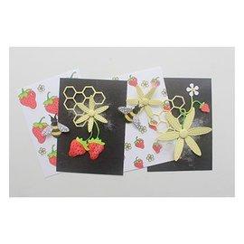 Joy!Crafts / Jeanine´s Art, Hobby Solutions Dies /  Estampación stencil sello +: Bee