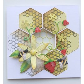 Joy!Crafts / Hobby Solutions Dies Punching stencils + stamps: bees