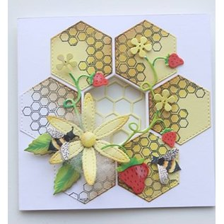 Joy!Crafts / Hobby Solutions Dies Stempling stencil stempel +: Bee