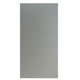 Karten und Scrapbooking Papier, Papier blöcke cartolina metálico, 15x30cm, prata