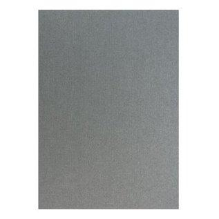 DESIGNER BLÖCKE / DESIGNER PAPER Structure de lin en argent métallique