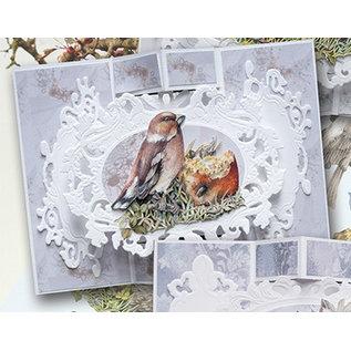 BASTELSETS / CRAFT KITS Scheda Completa Set Paradiso Uccelli