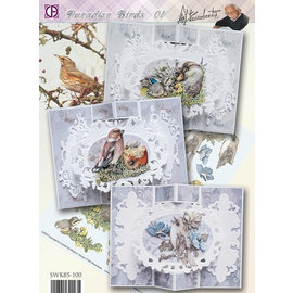 BASTELSETS / CRAFT KITS Komplet Card Set Paradise Birds