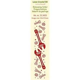 Leane Creatief - Lea'bilities und By Lene Embossingsfolder: Tools