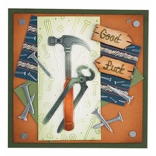 Leane Creatief - Lea'bilities Embossingsfolder: Werkzeuge