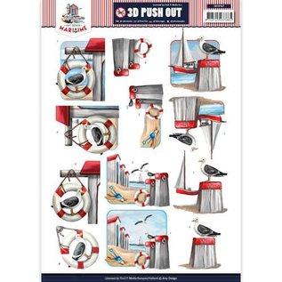 Bilder, 3D Bilder und ausgestanzte Teile usw... 3D Stansvellen, A4: Maritime / Holiday
