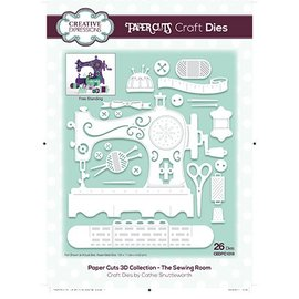 CREATIVE EXPRESSIONS und COUTURE CREATIONS Stamping Stencils: The Sewing Room