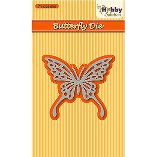 Joy!Crafts / Jeanine´s Art, Hobby Solutions Dies /  Stansning skabelon sommerfugl