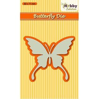 Joy!Crafts / Hobby Solutions Dies Ponsen template vlinder