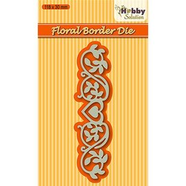 Joy!Crafts / Hobby Solutions Dies Ponsen sjabloon: Border