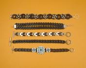 *** bracelets avec matrices coupantes créer ***