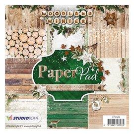 DESIGNER BLÖCKE / DESIGNER PAPER Carta Designersblock: Woodland