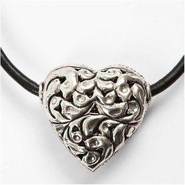 Embellishments / Verzierungen 1 Big coração, tamanho 40 x 39 x 18 mm
