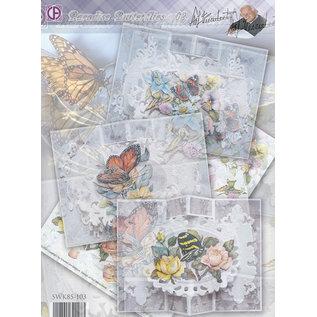 BASTELSETS / CRAFT KITS Komplettes Kartenset: Paradise Butterflies 02