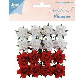 Joy!Crafts / Jeanine´s Art, Hobby Solutions Dies /  16 fleurs en plastique