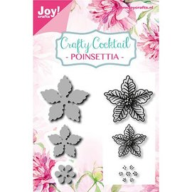 Joy!Crafts / Jeanine´s Art, Hobby Solutions Dies /  Stamping timbre pochoir +: Poinsettia