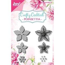 Joy!Crafts / Jeanine´s Art, Hobby Solutions Dies /  Stanzschablonen + Stempel: Poinsettia