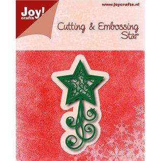 Joy!Crafts / Jeanine´s Art, Hobby Solutions Dies /  Stempling stencil: stjerne med hvirvler