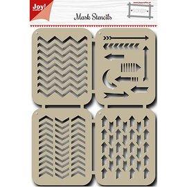 Joy!Crafts / Hobby Solutions Dies Maschera Stencil: frecce