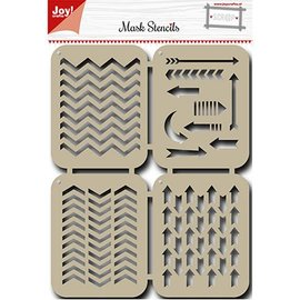 Joy!Crafts / Hobby Solutions Dies Mask Stencil: Arrows