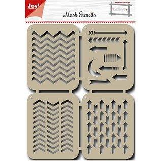 Joy!Crafts / Hobby Solutions Dies Mask Stencil: Pfeilen
