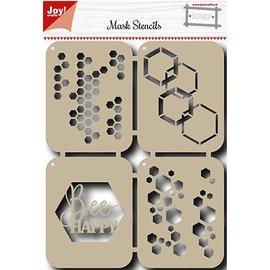 Joy!Crafts / Hobby Solutions Dies Mask Stencil: Gelukkige bij