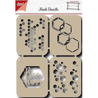 Joy!Crafts / Jeanine´s Art, Hobby Solutions Dies /  Mask Stencil: Bee Glade
