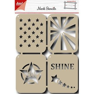 Joy!Crafts / Jeanine´s Art, Hobby Solutions Dies /  Mask Stencil: Sternen