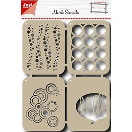 Joy!Crafts / Hobby Solutions Dies Mask Stencil: Bubbels
