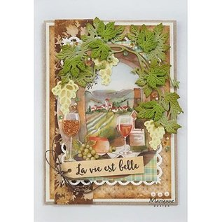 Marianne Design Stamping stencils: Tiny's vines, vines