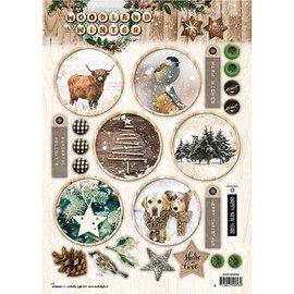 Bilder, 3D Bilder und ausgestanzte Teile usw... A4 feuilles découpées