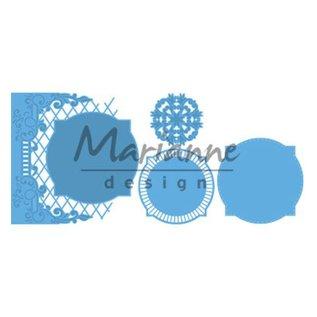Marianne Design Stansning skabelon: dekorativ ramme