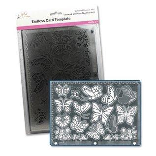 Schablone: Ein tausend und eine Möglichkeiten Nr4 mit Schablonen, für verschiedene Techniken / Templates