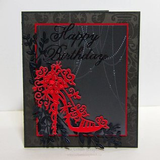 Tattered Lace Stamping and pre-masks, Tattered Lace, High Heel Charisma