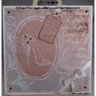 Tattered Lace Skære- og prægeskabeloner Tattered Lace, høj hæl Charisma