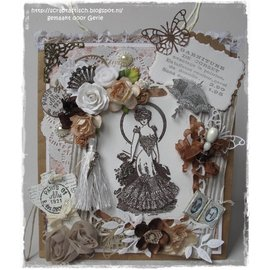 Marianne Design Transparent stamp, Victorian Ladies