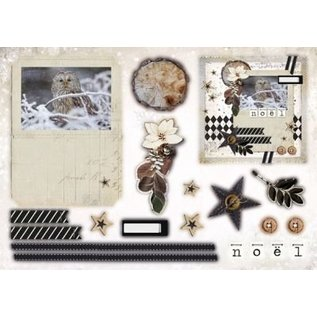 Bilder, 3D Bilder und ausgestanzte Teile usw... A5 Designerblock mit 12 Stanzbögen