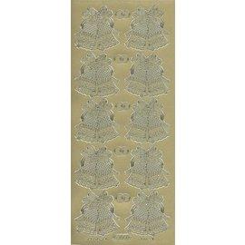 Sticker Ziersticker, Glocken und Ringen