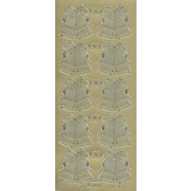 Sticker Ziersticker, klokken en ringen