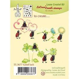 Leane Creatief - Lea'bilities Cancella / bollo trasparente: Good Luck