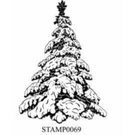 Stempel / Stamp: Transparent Klar / Gennemsigtig stempel