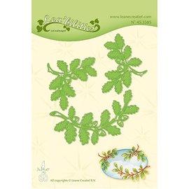Leane Creatief - Lea'bilities Punzonatura modello: foglie e rami