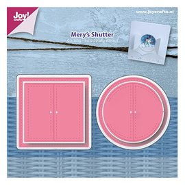 Joy!Crafts / Jeanine´s Art, Hobby Solutions Dies /  Stamping template: Mery's window shutters
