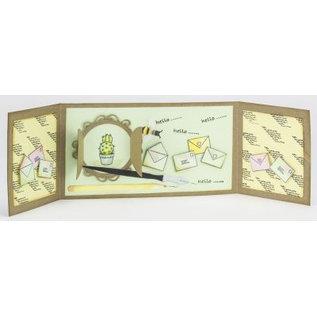 Joy!Crafts / Jeanine´s Art, Hobby Solutions Dies /  Stanzschablone: Mery's Fensterläden