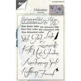 Stempel / Stamp: Transparent Clear / Transparent Stamps: German sayings